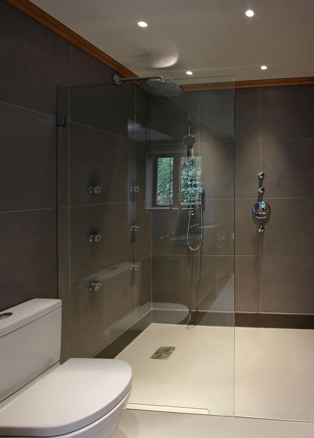 Frameless Glass Shower Panels Glass Showers In Clapham