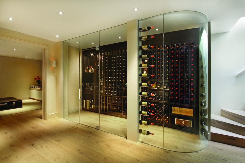 Frameless Glass Wine Cellar Manufacturers Cellar Maison