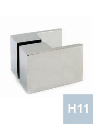 Shower handle specifications for frameless glass showers for Privacy glass options